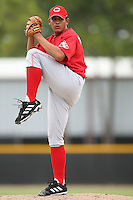 August 14, 2008: Luis Machuca (85) of the GCL Reds.  Photo by: Chris Proctor/Four Seam Images