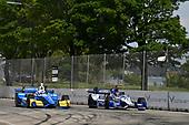 Verizon IndyCar Series<br /> Chevrolet Detroit Grand Prix Race 2<br /> Raceway at Belle Isle Park, Detroit, MI USA<br /> Sunday 4 June 2017<br /> Scott Dixon, Chip Ganassi Racing Teams Honda, Marco Andretti, Andretti Autosport with Yarrow Honda<br /> World Copyright: Scott R LePage<br /> LAT Images<br /> ref: Digital Image lepage-170604-DGP-9379