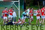 Dara Devine Na Gaeil celebrates scoring Na Gaeil first goal against Mullinahone in the Munster Junior Championship final on Sunday