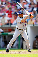 11 April 2006: Anderson Hernandez, infielder for the New York Mets, at bat against the Washington Nationals during the Nationals' Home Opener at RFK Stadium, in Washington, DC. The Mets defeated the Nationals 7-1 to maintain their early lead in the NL East...Mandatory Photo Credit: Ed Wolfstein Photo..