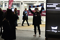 West Ham fans arrive during West Ham United vs Liverpool, Premier League Football at The London Stadium on 4th February 2019