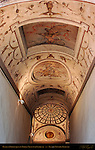 Barrel Vault with Grotesques and Fantasies Monumental Staircase Palazzo Vecchio Florence