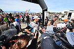 Richie McCaw of Team Cure Kids after completing the 2016 GODZone C5 Adventure Race. Kaiteriteri Beach, Motueka, Nelson. April 7, 2016. New Zealand. Copyright Photo: www.shuttersport.co.nz