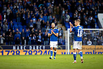 St Johnstone v Galatasaray…12.08.21  McDiarmid Park Europa League Qualifier<br />Shaun Rooney and Ali McCann applaud the fans at full time<br />Picture by Graeme Hart.<br />Copyright Perthshire Picture Agency<br />Tel: 01738 623350  Mobile: 07990 594431