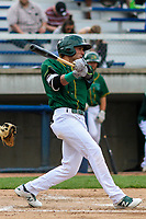 Beloit Snappers outfielder Luis Barrera (16) swings at a pitch during a Midwest League game against the Peoria Chiefs on April 15, 2017 at Pohlman Field in Beloit, Wisconsin.  Beloit defeated Peoria 12-0. (Brad Krause/Four Seam Images)