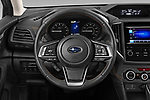 Car pictures of steering wheel view of a 2020 Subaru Crosstrek Premium 5 Door SUV Steering Wheel