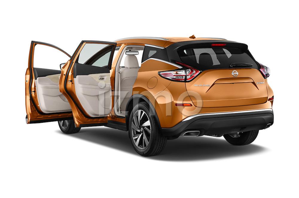Car images of a 2018 Nissan Murano Platinum 5 Door SUV Doors