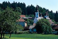 Kirche von Okonina im Savinja-Tal, Slowenien