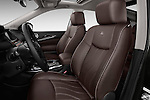 Front Seat View Of 2013 Infiniti QX35 / Jx35