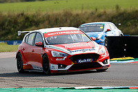 Round 5 of the 2020 British Touring Car Championship. #44 Andy Neate. Motobase Performance. Ford Focus ST.