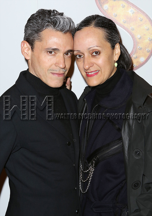 Ruben Toledo and Isabel Toledo attends the Broadway Opening Performance of 'Side Show' at St. James Theatre Theatre on November 17, 2014 in New York City.