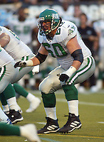 Gene Makowsky Saskatchewan Roughriders 2003. Photo Scott Grant