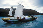 Brendans Voyage. Southern Ireland sea trials