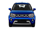 Car photography straight front view of a 2020 Suzuki Ignis GL+ 5 Door Hatchback Front View