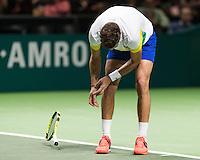 ABN AMRO World Tennis Tournament, Rotterdam, The Netherlands, 14 februari, 2017, Marin Cilic (CRO)<br /> Photo: Henk Koster