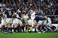 Courtney Lawes of England controls the maul near the Scottish line during the RBS 6 Nations match between England and Scotland at Twickenham Stadium on Saturday 11th March 2017 (Photo by Rob Munro/Stewart Communications)
