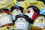 Home-made pies at Avila Valley Barn, farm stand and petting zoo in Avila Valley, San Luis Obispo County, California-made jams, jellies, and fruit spreads at Avila Valley Barn, farm stand and petting zoo in Avila Valley, San Luis Obispo County, California