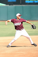 Taylor Lindsey - Desert Mountain High School playing in the Arizona state playoffs against Millennium High at Phoenix Municipal Stadium, Phoenix, AZ - 05/11/2010.Photo by:  Bill Mitchell/Four Seam Images