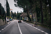 mid-race mechanics<br /> <br /> 76th Paris-Nice 2018<br /> stage 6: Sisteron > Vence (198km)