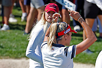 5th September 2021; Toledo, Ohio, USA;  Lexi Thompson of Team USA reacts on the 17th green during the morning Four-Ball Pairings during the Solheim Cup on September 5th