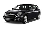 2016 MINI Clubman Cooper-SD 5 Door wagon Angular Front stock photos of front three quarter view