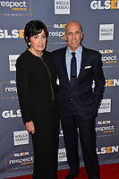 LOS ANGELES, USA. October 26, 2019: Jeffrey Katzenberg & Marilyn Katzenberg at the GLSEN Awards 2019 at the Beverly Wilshire Hotel.<br /> Picture: Paul Smith/Featureflash