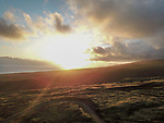 Sunrise Looking Out At Maui