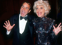 Rich Little Carol Channing 1991<br /> Photo by Adam Scull/PHOTOlink