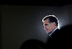 Republican Presidential candidate Mitt Romney (R-MA) speaks at a rally at West Hills Elementary School in Knoxville, Tennessee on Sunday, March 04, 2012. (Photo by Yana Paskova for The New York Times)<br /> <br /> Assignment ID: 30122154A