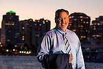 Attorney Greg Coleman, from the firm Critton Luttier & Coleman, stands with West Palm Beach, Florida in the background March 25, 2014.