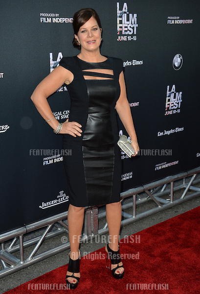 """Marcia Gay Harden at the premiere of her movie """"Grandma"""", the opening movie of the Los Angeles Film Festival, at the Regal Cinema LA Live.<br /> June 11, 2015  Los Angeles, CA<br /> Picture: Paul Smith / Featureflash"""