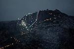 21/03/15 -- Akre, Iraq -- A view of Akre mountain during Newroz Celebrations