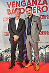 "Liam Neeson and Hans Petter Moland during Premiere Cold Pursuit ""Venganza Bajo Cero"" at Capitol Cinema on July 15, 2019 in Madrid, Spain.<br />  (ALTERPHOTOS/Yurena Paniagua)"
