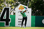 during the first round of the Shenzhen International, Genzon Golf Club, Shenzhen, China.<br /> Picture: Golffile.ie