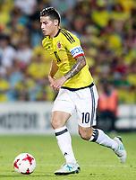 Colombia's James Rodriguez during international friendly match. June 13,2017.(ALTERPHOTOS/Acero) (NortePhoto.com) (NortePhoto.com)
