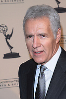 "08 November 2020 - Longtime ""Jeopardy!"" host Alex Trebek, died on Sunday at the age of 80 following a battle with pancreatic cancer. File Photo: 20 January 2010 - West Hollywood, CA - Alex Trebek .    Academy Of Television  Arts & Sciences 19th Annual Hall Fame Gala  held at The Guys & Dolls Lounge. Photo Credit: T.Conrad/AdMedia"