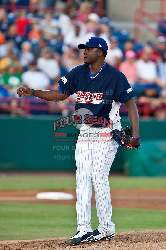 Rafael Dolis of the Daytona Cubs during the Florida State League All Star Game on June 12 2010 at Space Coast Stadium in Viera, FL (Photo By Scott Jontes/Four Seam Images)