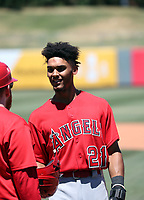 Jeremiah Jackson - Los Angeles Angels 2019 extended spring training (Bill Mitchell)