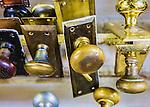 Vintage door knobs.  Multiple exposure.