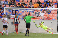 Houston, TX - Sunday Oct. 09, 2016: Sabrina D'Angelo during the National Women's Soccer League (NWSL) Championship match between the Washington Spirit and the Western New York Flash at BBVA Compass Stadium.