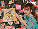 """Japanese model Nicole Fujita poses for camera during an event for the 45th anniversary of Chocolate snack """"Kit Kat"""" at the Kit Kat Chocolatory Ginza in Tokyo, Japan on November 14, 2018. (Photo by AFLO)"""