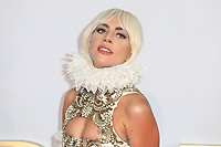 """Lady Gaga<br /> at the premiere of """"A Star is Born"""", Vue West End, Leicester Square, London<br /> <br /> ©Ash Knotek  D3436  27/09/2018"""