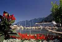 AJ3645, Vancouver, British Columbia, ferry, Canada, Picturesque Horseshoe Bay in Vancouver in the province of British Columbia.