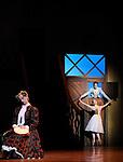 LA FILLE MAL GARDEE....Choregraphie : ASHTON Frederick..Compositeur : HEROLD Louis joseph Ferdinand..Compagnie : Ballet de l Opera National de Paris..Orchestre : Orchestre de l Opera National de Paris..Decor : LANCASTER Osbert..Lumiere : THOMSON George..Costumes : LANCASTER Osbert..Avec :..OULD BRAHAM Myriam..HEYMANN Mathias..PHAVORIN Stephane..Lieu : Opera Garnier..Ville : Paris..Le : 26 06 2009..© Laurent PAILLIER / www.photosdedanse.com..All rights reserved