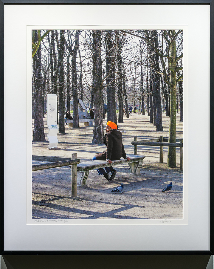 Pensive in the Tuileries, Paris<br />