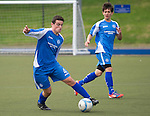 St Johnstone U16's.Anthony Higgins.Picture by Graeme Hart..Copyright Perthshire Picture Agency.Tel: 01738 623350  Mobile: 07990 594431