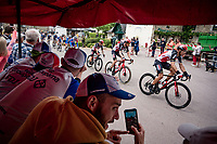 Philippe Gilbert (BEL/Lotto-Soudal) rolling through town<br /> <br /> Stage 3 from Lorient to Pontivy (183km)<br /> 108th Tour de France 2021 (2.UWT)<br /> <br /> ©kramon