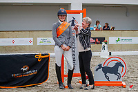 Hannoverian Award Level 1-3: NZL-Caitlin Benzie and Archie. 2021 NZL-Equestrian Entries NZ Youth Dressage Festival. NEC Taupo. Sunday 31 January. Copyright Photo: Libby Law Photography
