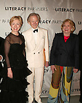 Hillary Rodham Clinton, Tom Wolfe and Liz Smith Attending  the Literacy Partners 20th  Annual Gala,.AN EVENING OF READINGS at Lincoln Center, Honoring Tom Brokaw, Tim Russert and Jack Welch..May 3, 2004.