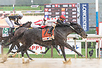 August 29, 2020: Win Win Win #7, ridden by Javier Castellano, trained by H.G. Motion wins the The Forego grI on Sword Danccer day at Saratoga Race Course in Saratoga Springs, New York. Rob Simmons/CSM